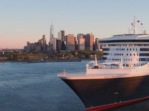 Cunard NYC Brand Film Still