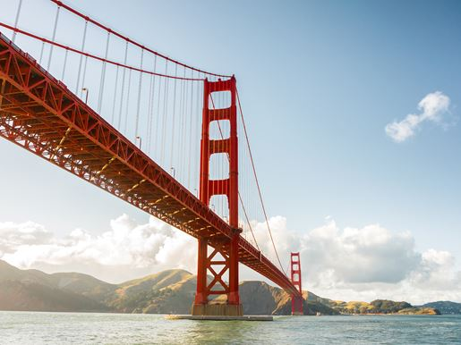 Canva Golden Gate, San Francisco, California, USA